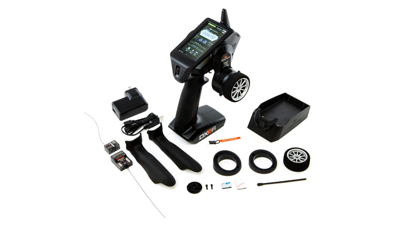 Image for DX6R 6-Channel DSMR Android-Powered Radio System with WiFi/Bluetooth from HorizonHobby