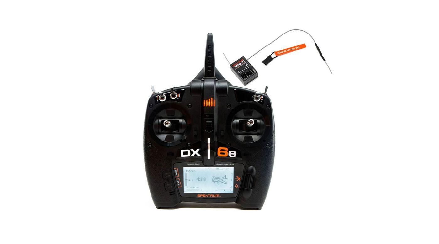 Grafik für DX6e 6-Kanal Fernsteuerung mit AR610 Empfänger in Horizon Hobby
