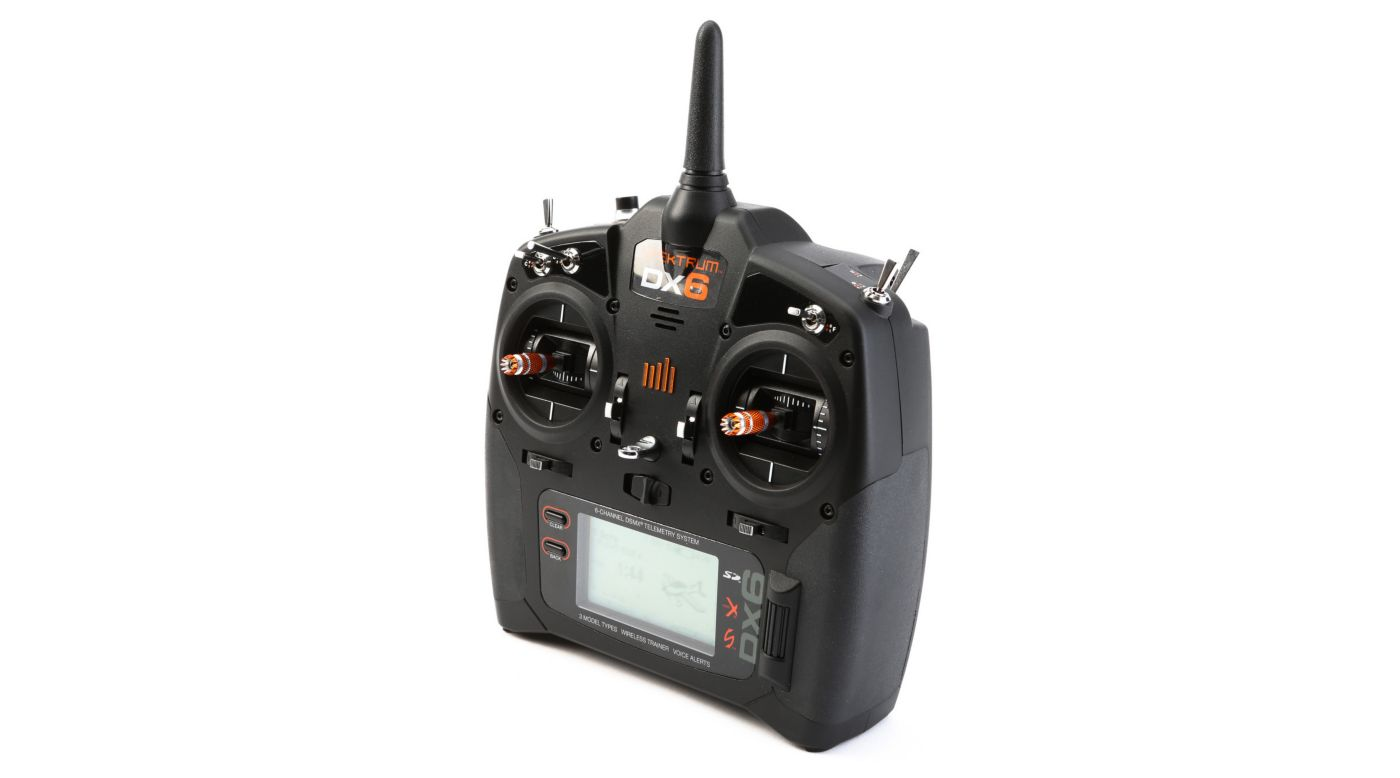 Image for DX6 6-Channel DSMX Transmitter Gen 2 with AR610 Receiver, Mode 2 from HorizonHobby