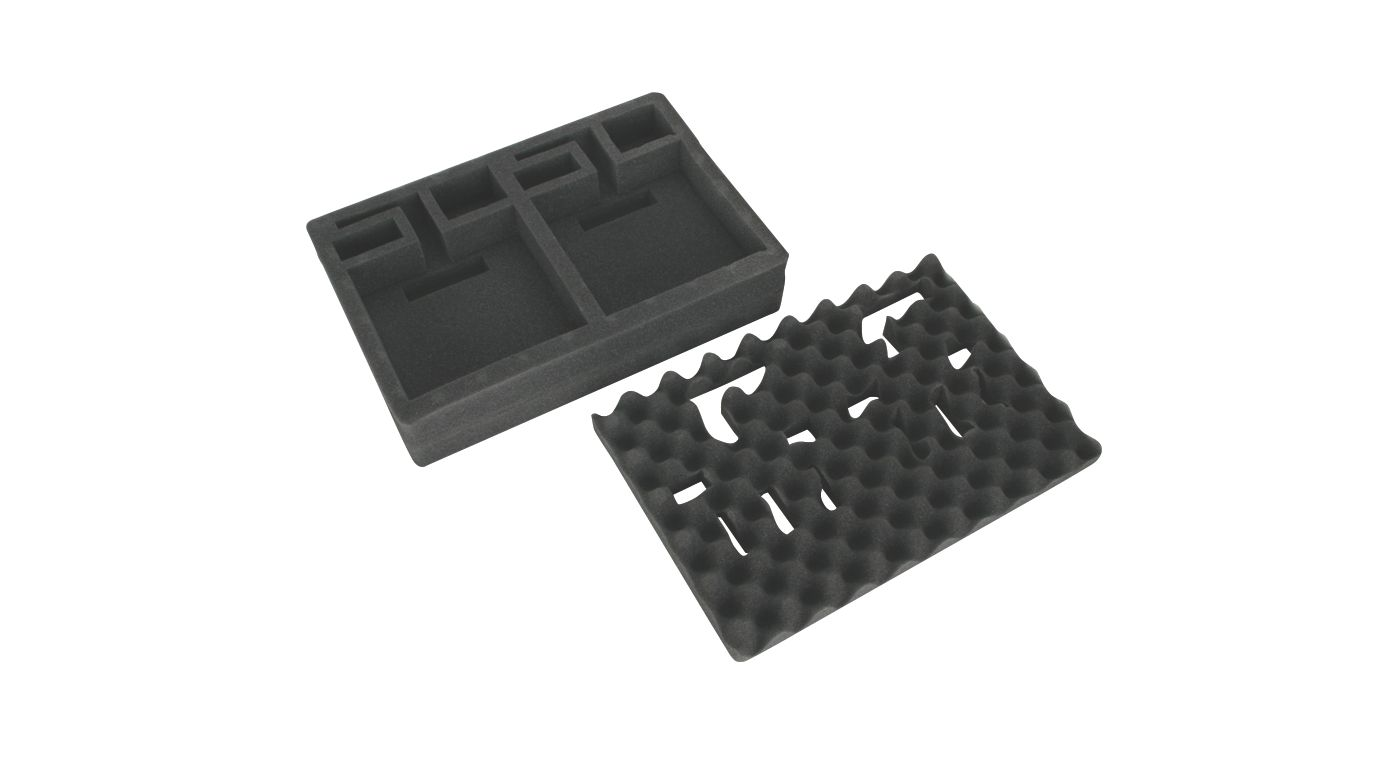 Image for Deluxe Double Transmitter Case Foam, Aircraft from HorizonHobby