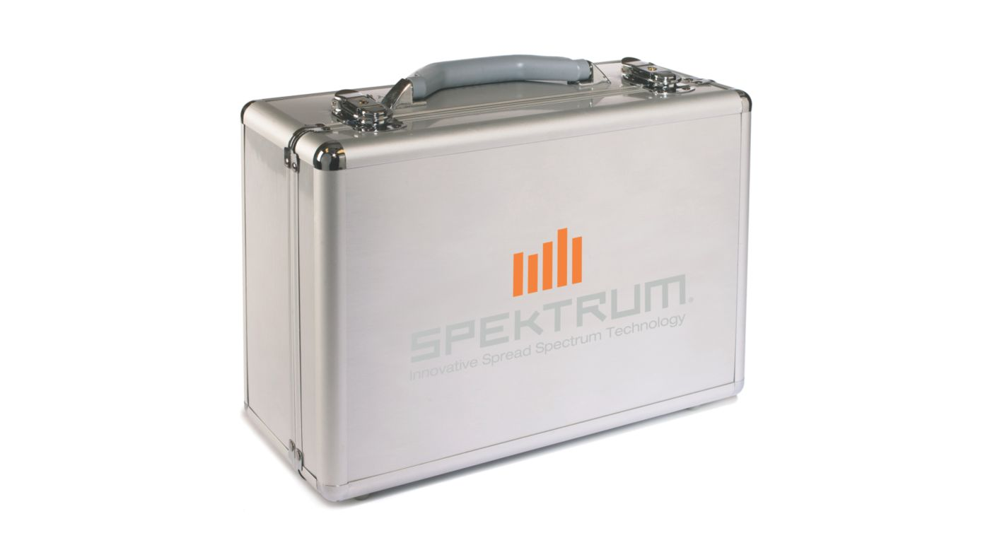 Image for Spektrum Aluminum Surface Transmitter Case from HorizonHobby