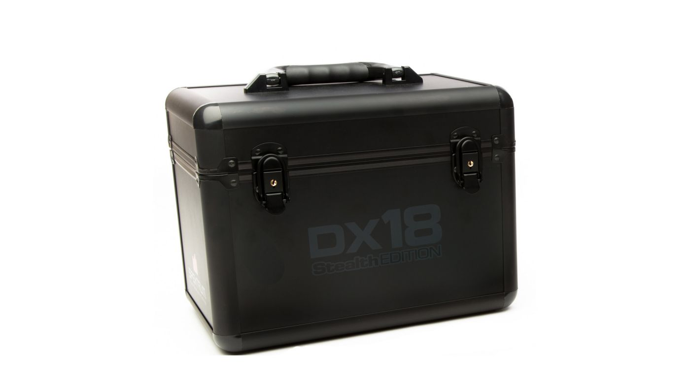 Image for DX18 Stealth Edition Replacement Transmitter Case from HorizonHobby