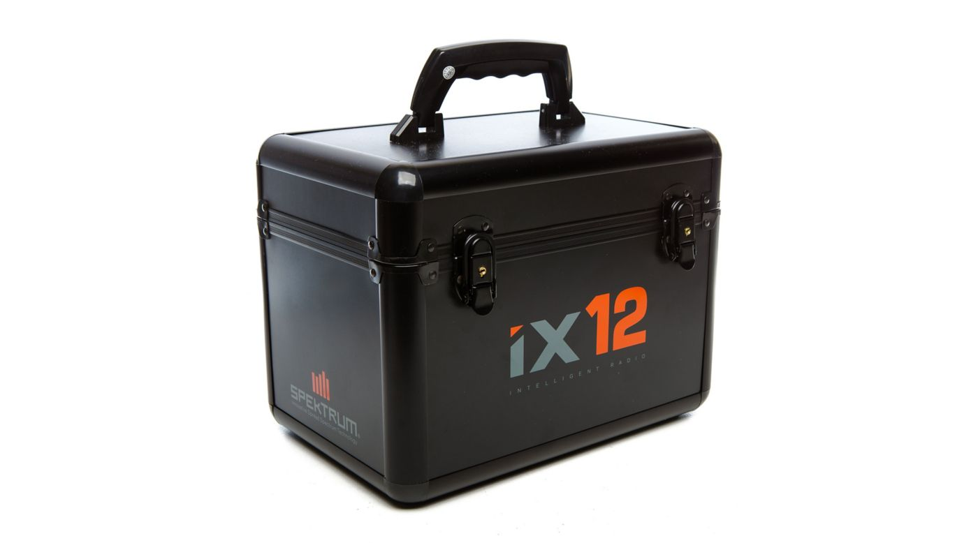 Image for iX12 Spektrum Air Transmitter Case from HorizonHobby