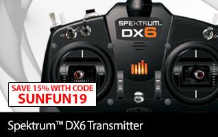 Spektrum DX6e 6-Channel DSMX Transmitter