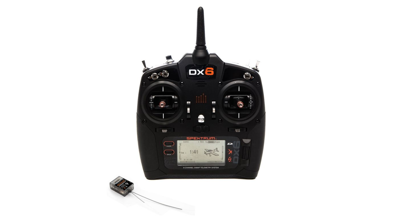 Image for DX6 6-Channel DSMX Transmitter Gen 3 with AR6600T Receiver from HorizonHobby