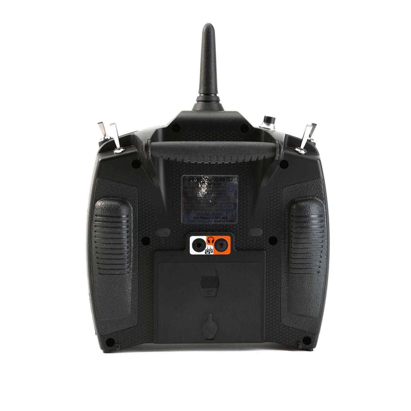 DX6 6-Channel DSMX Transmitter Gen 3 with AR6600T Receiver