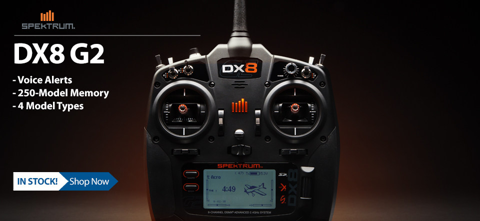 Spektrum DX8 8-Channel DSMX Transmitter Gen 2