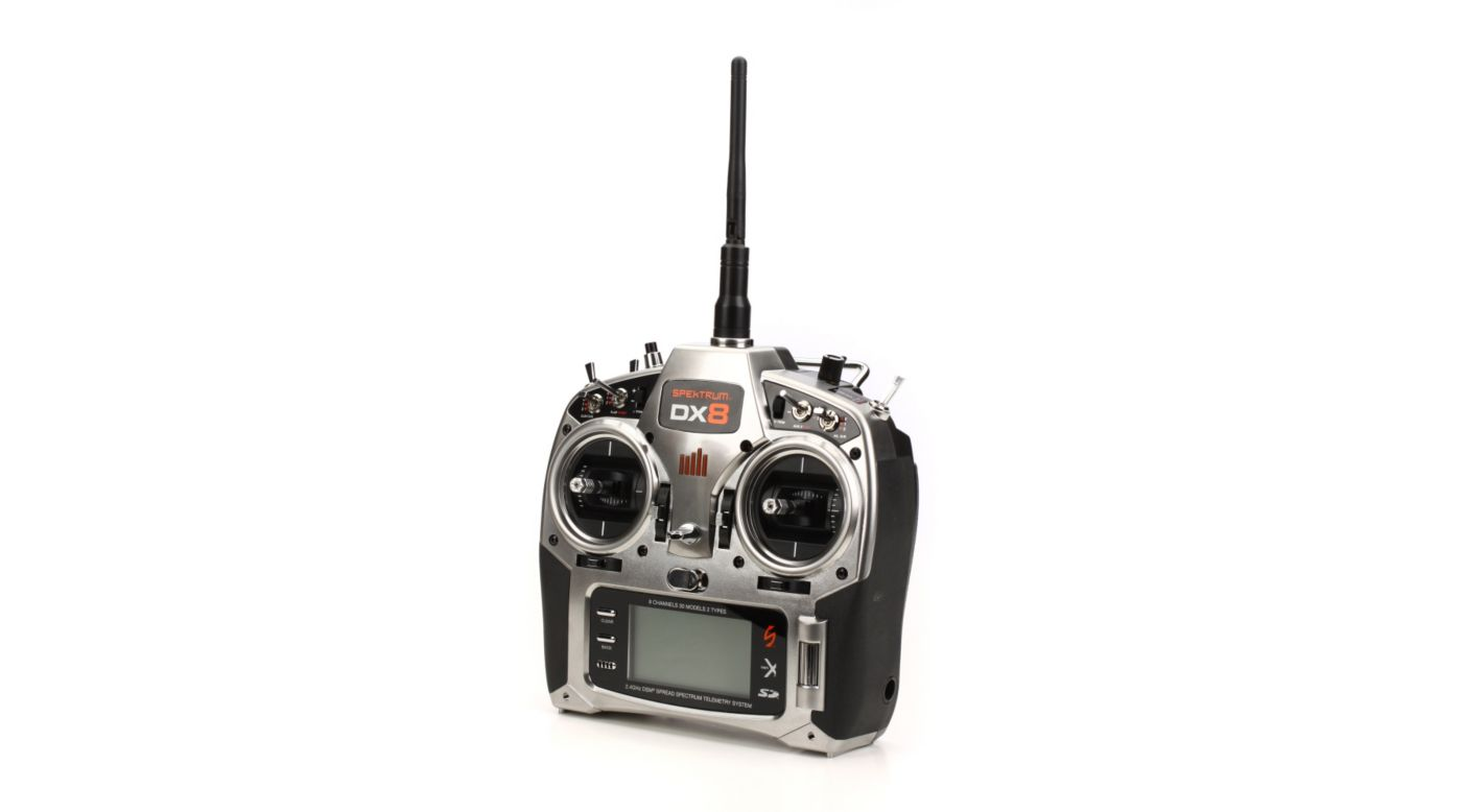 Image for DX8 8CH Transmitter with AR8000/TM1000: No Servos from HorizonHobby