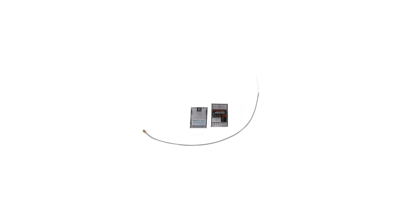 Image for Antenna and Case: SR3100 from HorizonHobby