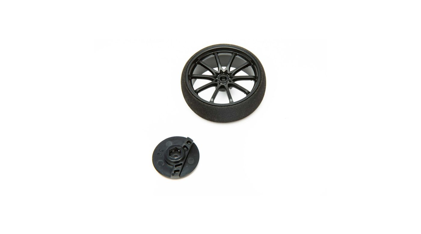 Image for Large Wheel, Black: DX5 Pro/6R/5C from HorizonHobby