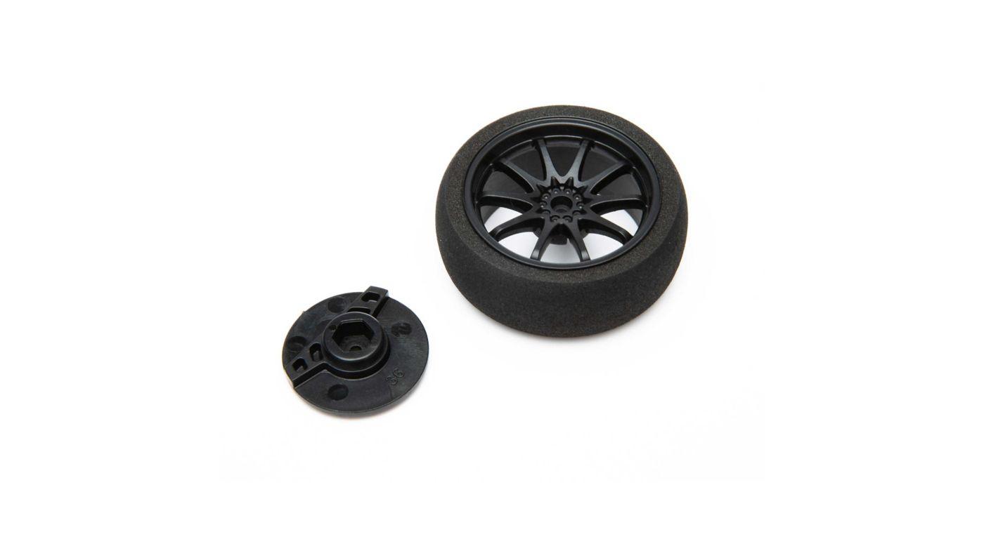 Image for Small Wheel, Black DX5 Pro/6R from HorizonHobby