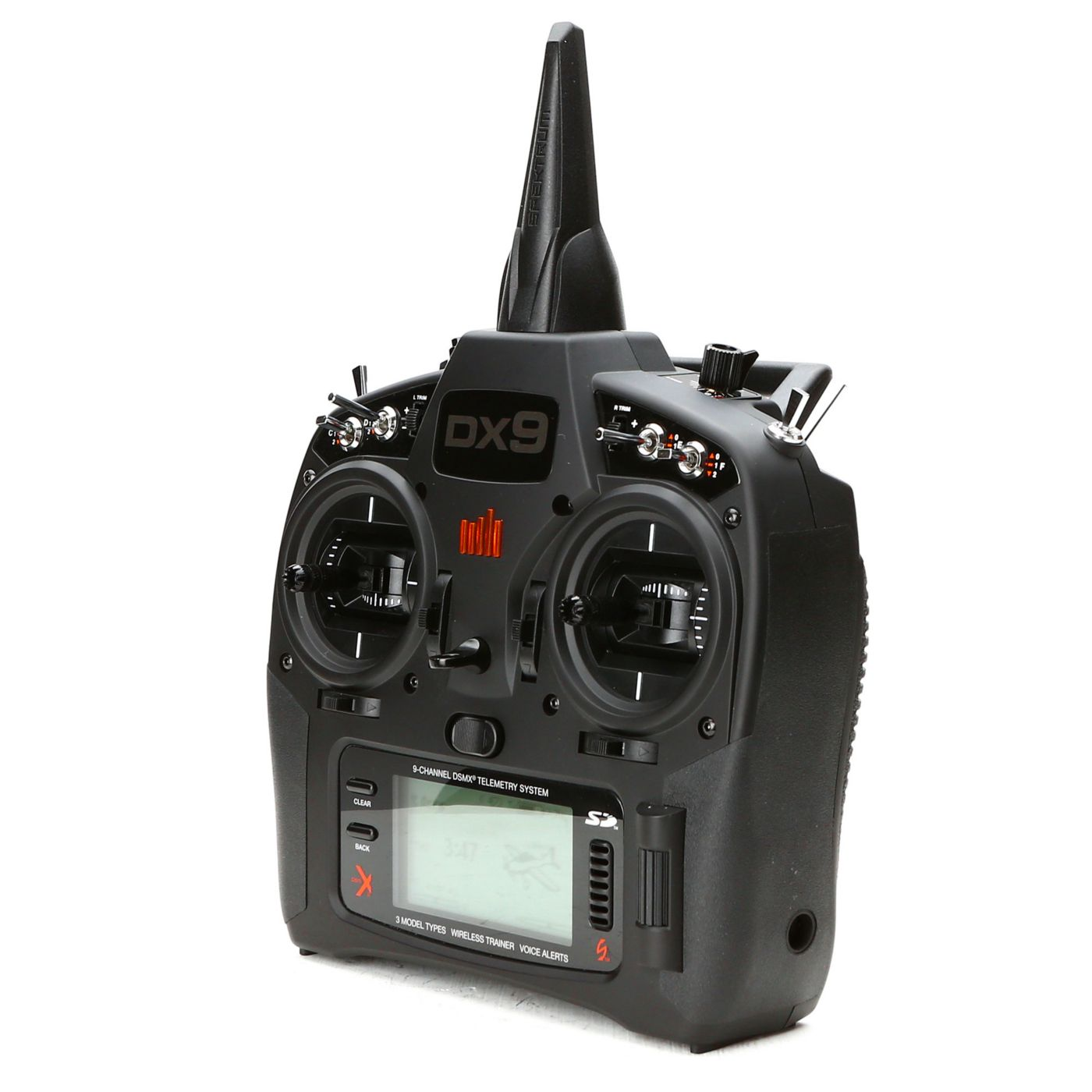 DX9 9-Channel DSMX Transmitter with AR9020, Black Edition ...