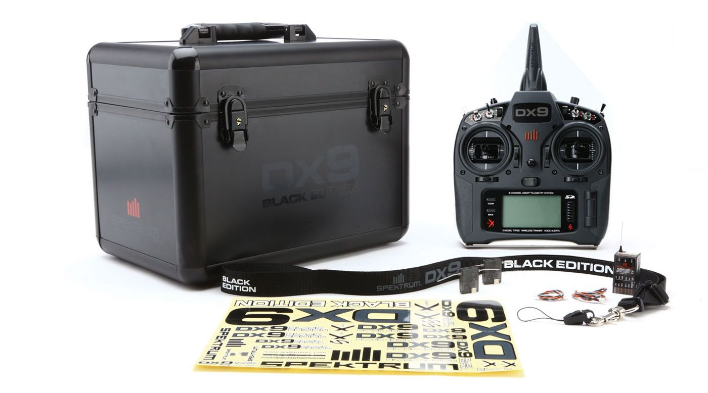 Image for DX9 Black Edition 9-Channel DSMX® Transmitter with AR9020 Receiver from HorizonHobby