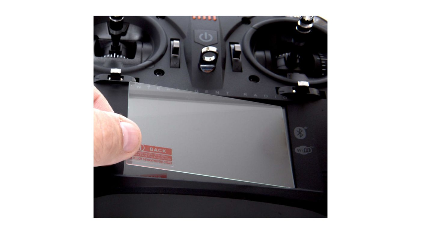 Image for Spektrum Touch Screen Protector for iX12/ DX6R from HorizonHobby