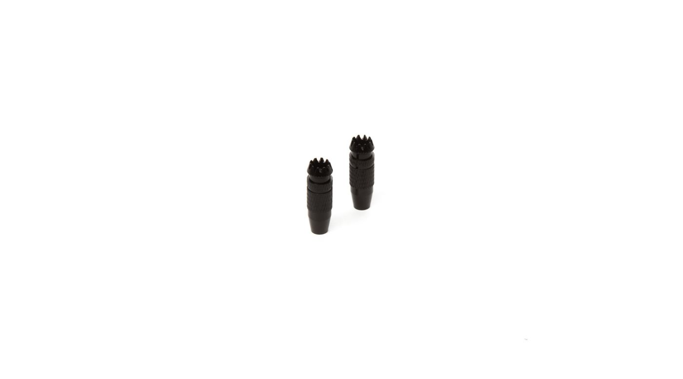 Image for Gimbal Stick Ends 24mm Black (2): DX9 BE from HorizonHobby