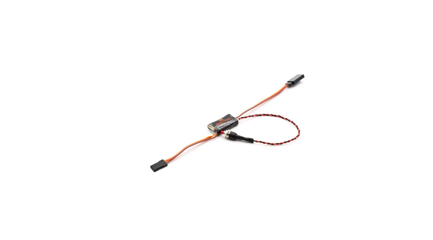 Image for Aircraft Telemetry Receiver Battery Energy Sensor from HorizonHobby
