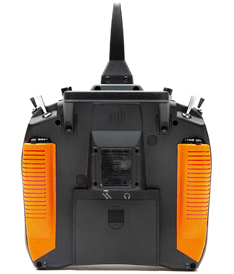 Back of iX12 with orange grips
