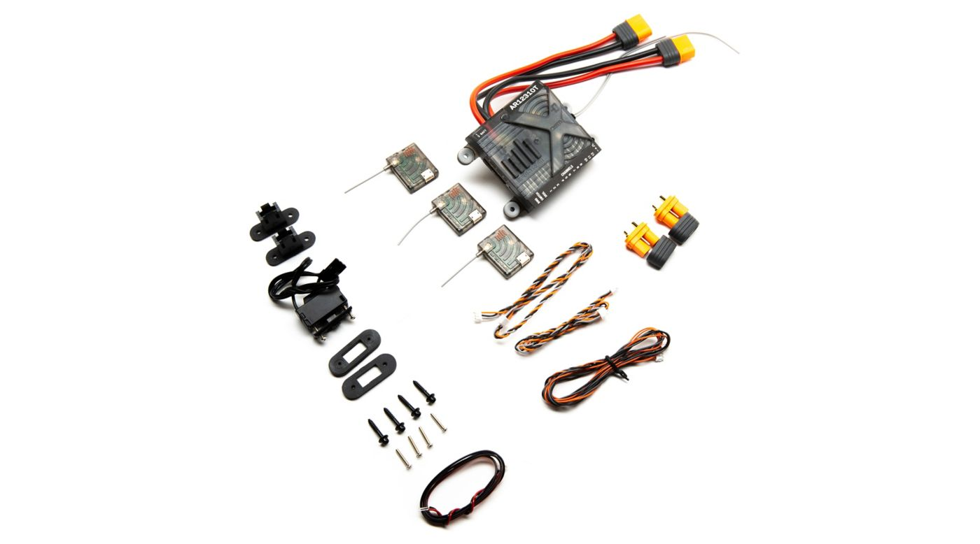Image for AR12310T DSMX 12-Channel PowerSafe Integrated Telemetry Receiver from HorizonHobby