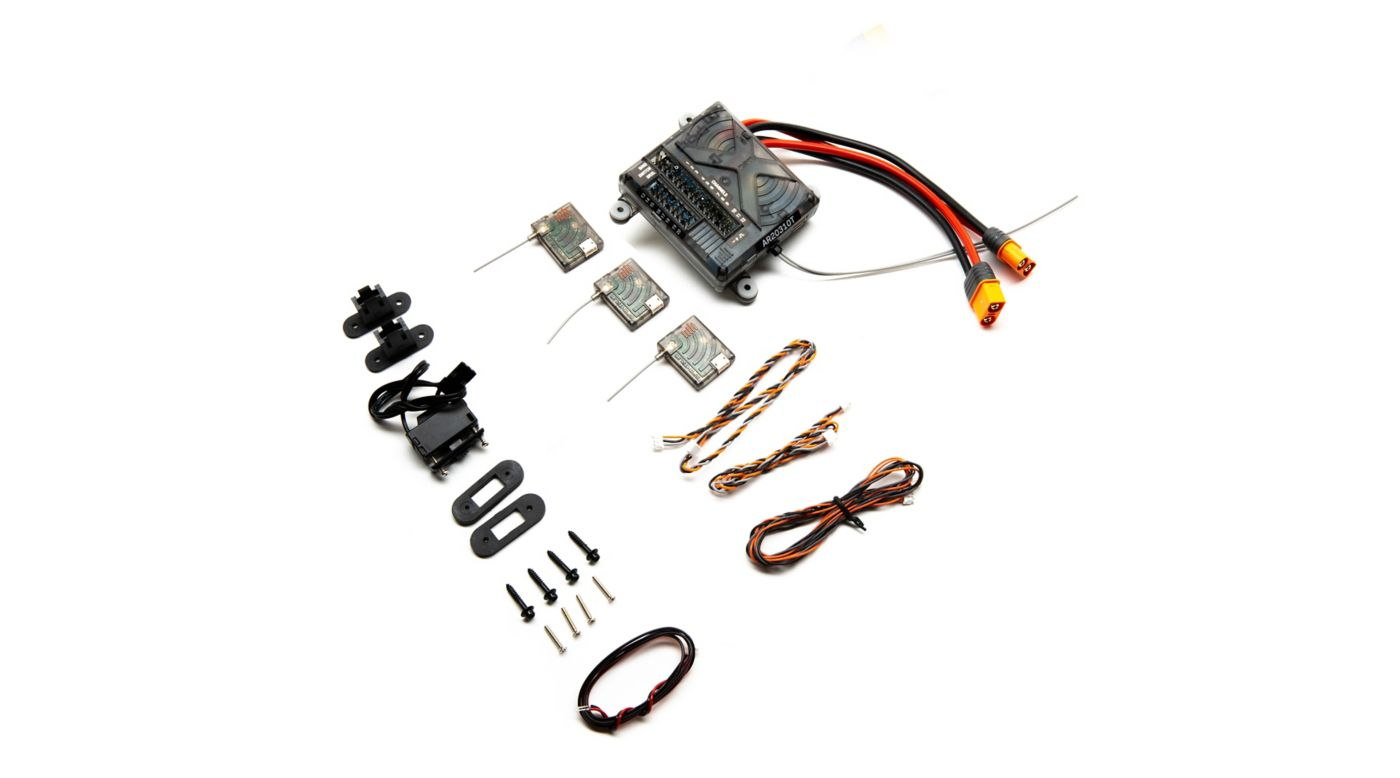 Image for AR20310T DSMX 20-Channel PowerSafe Integrated Telemetry Receiver from Horizon Hobby