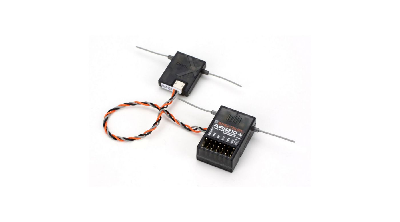 Image for AR6210 6-Channel DSMX Receiver from HorizonHobby