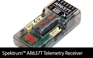 Spektrum AR637T AS3X Telemetry Receiver
