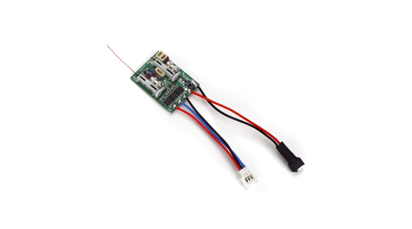 Image for AR6400LBL DSM2 6Ch Ultra Micro Receiver BL-ESC from HorizonHobby