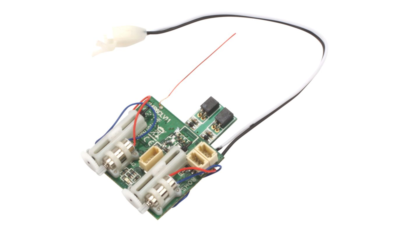Image for AR6400T DSM2 6CH Ultra Micro Rx with Twin ESC from HorizonHobby