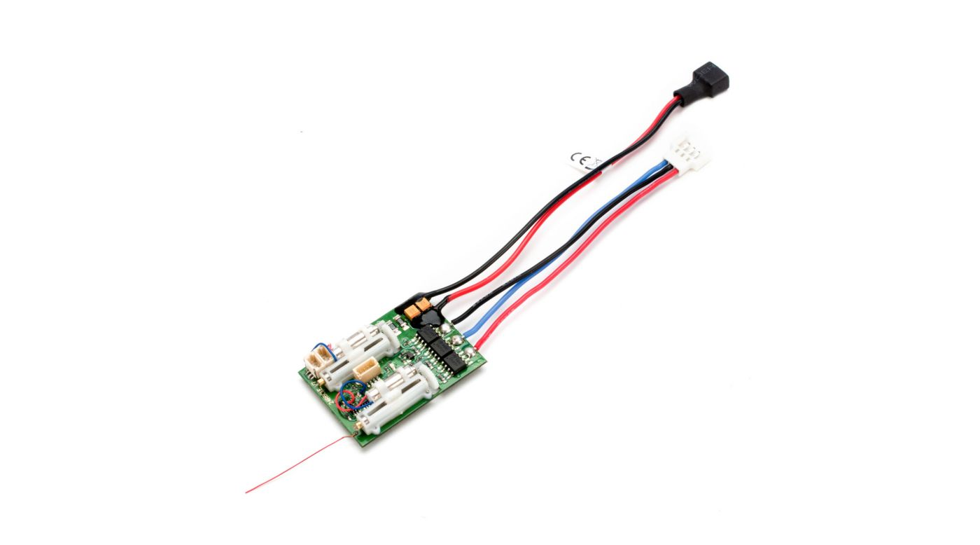 Image for AR6410LBL DSMX 6-Ch Ultra Micro Receiver with Brushless ESC from HorizonHobby
