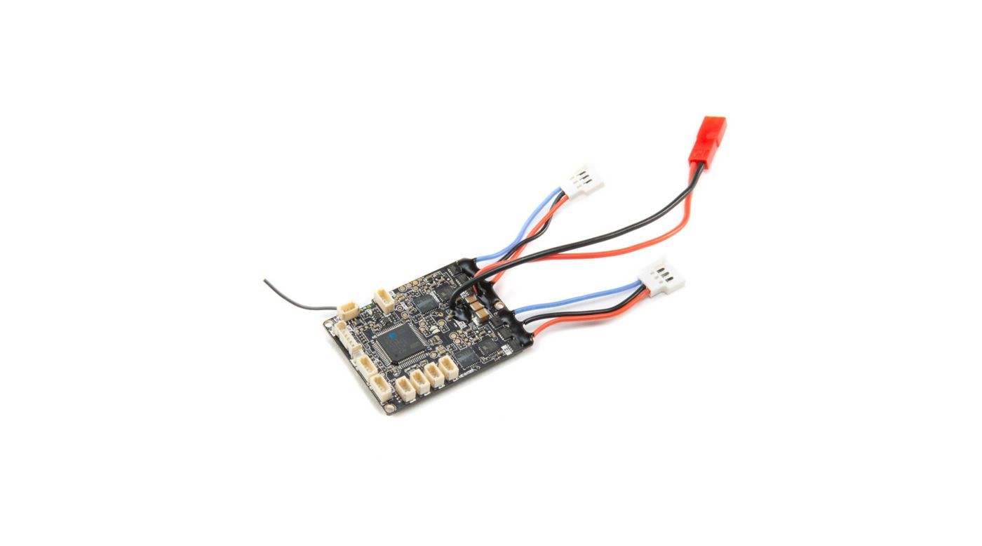 Image for DSMX 6-Channel Receiver with AS3X/SAFE, Dual BL ESC from HorizonHobby