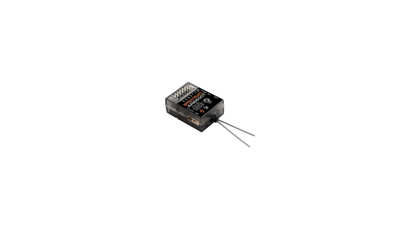 Image for AR6600T 6-Channel Air Integrated Telemetry Receiver from Horizon Hobby