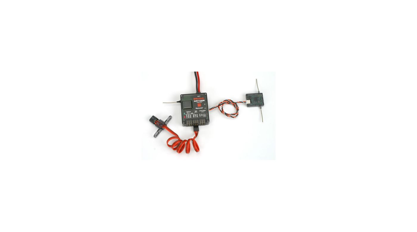 Image for AR7100R 7-Channel DSM2 Heli Receiver with RevLimit from HorizonHobby