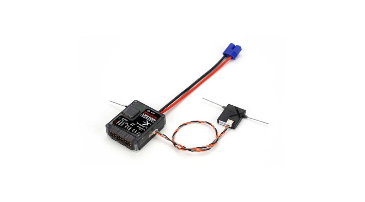Image for AR7110R 7CH DSMX Heli Receiver with Rev Limiter from HorizonHobby