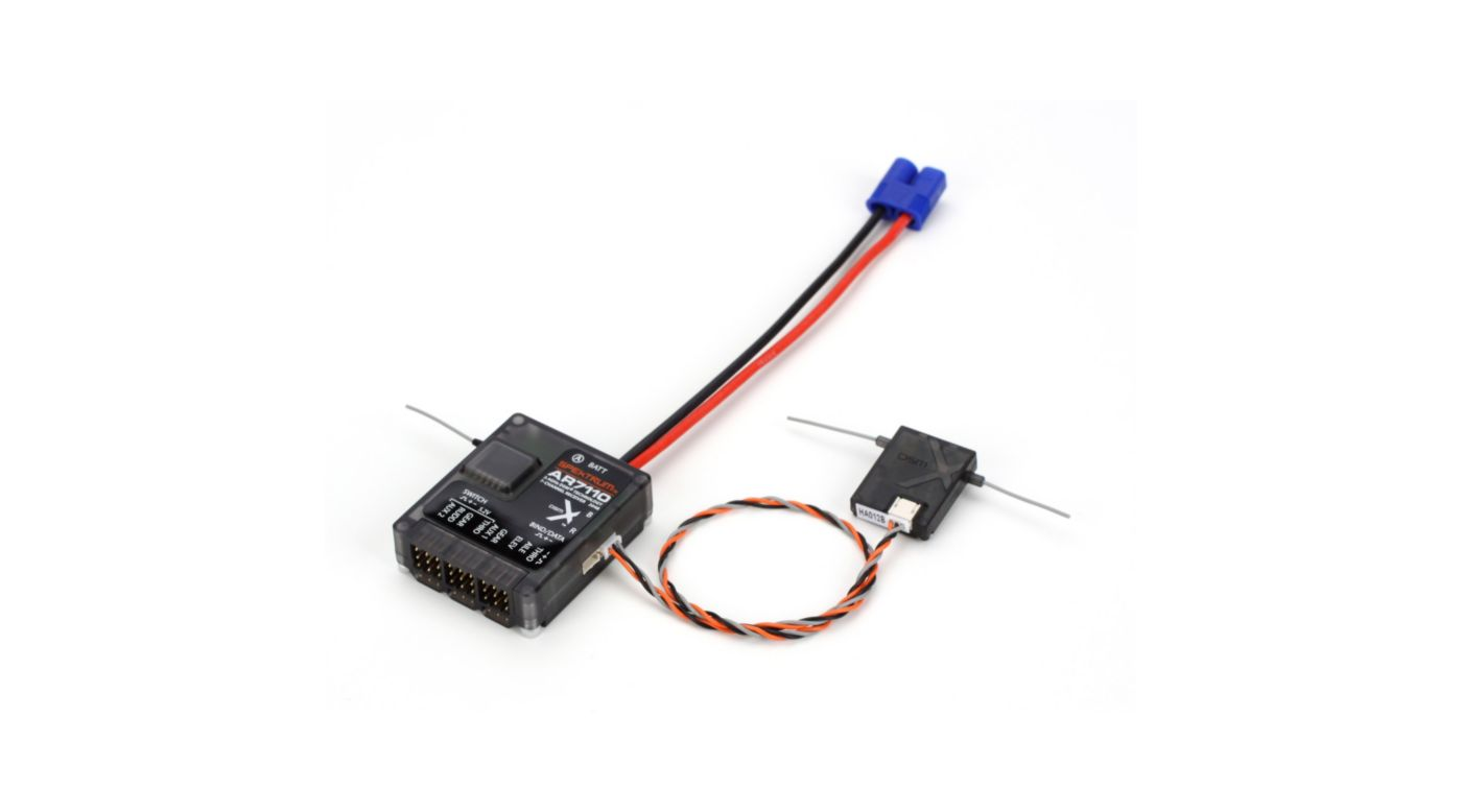 Image for AR7110 7-Channel DSMX Heli Receiver from HorizonHobby