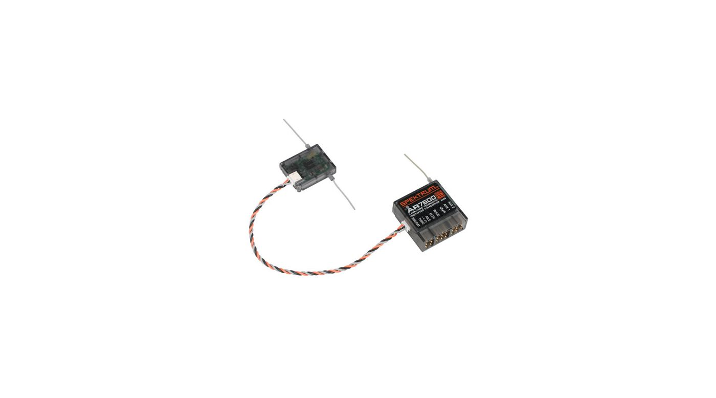Image for AR7600 DSM2 7-Channel High-Speed Receiver AIR from HorizonHobby