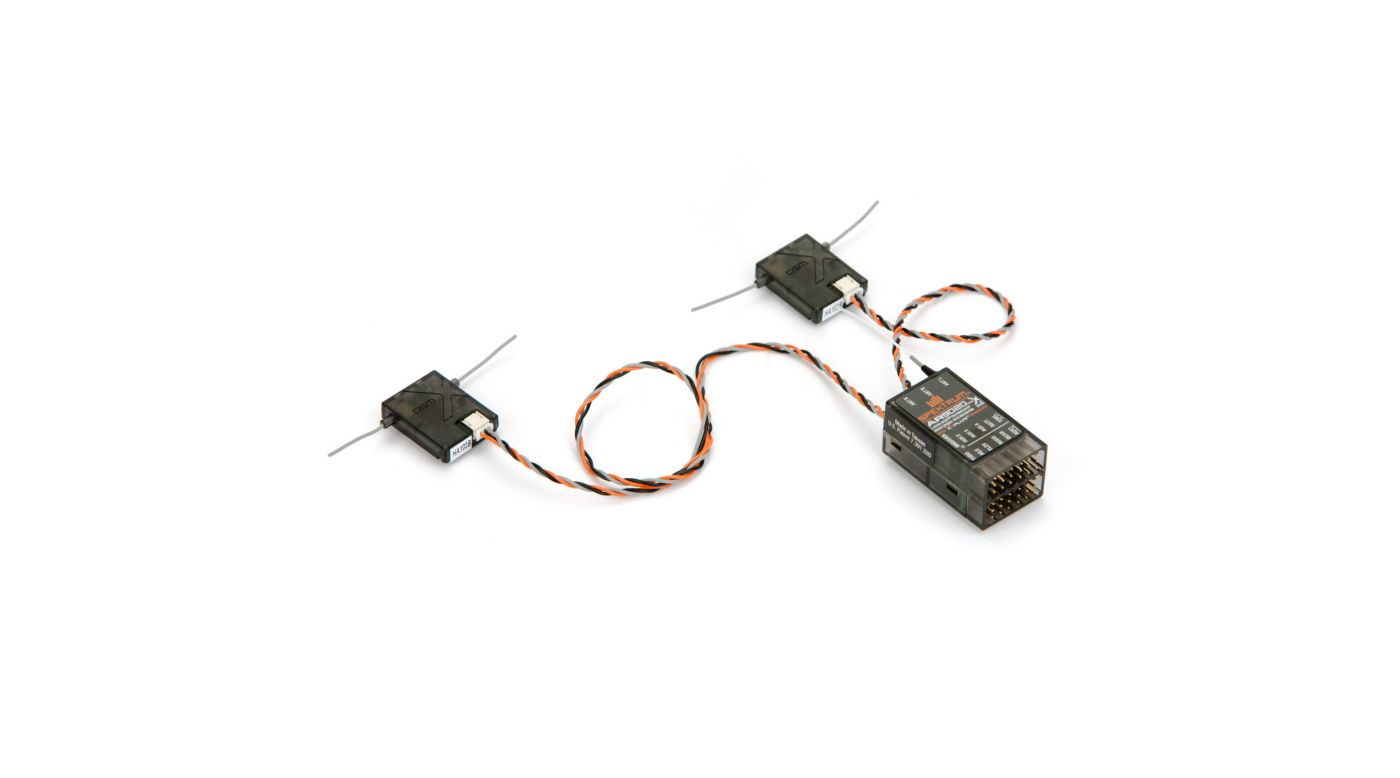 Image for AR9020 9-Channel DSMX X-Plus Receiver from HorizonHobby
