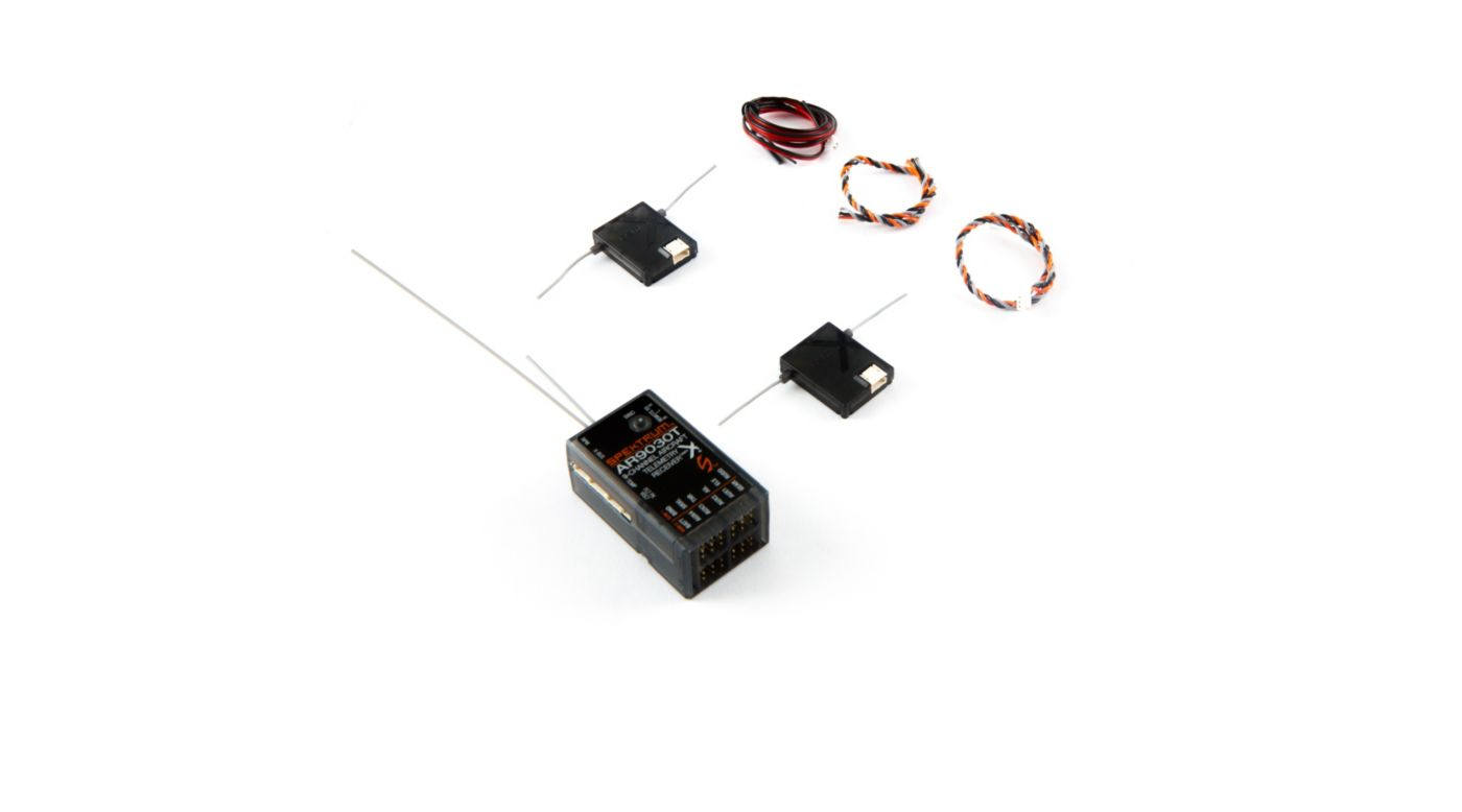 Image for AR9030T DSMX 9-Channel Air Integrated Telemetry Receiver from HorizonHobby