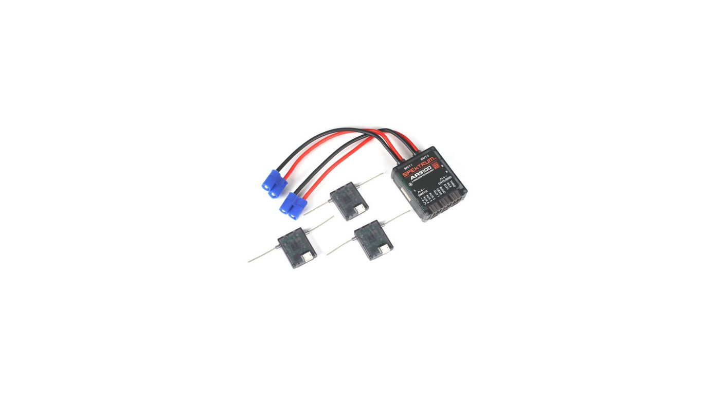 Image for AR9100 DSM2 9-Channel PowerSafe Receiver from HorizonHobby