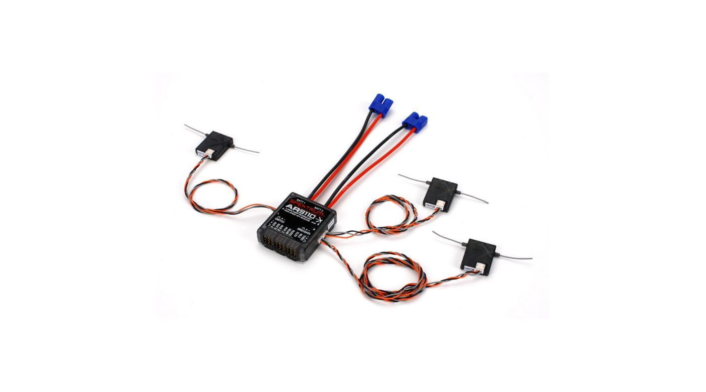 Image for AR9110 9-Channel DSMX PowerSafe Receiver from HorizonHobby