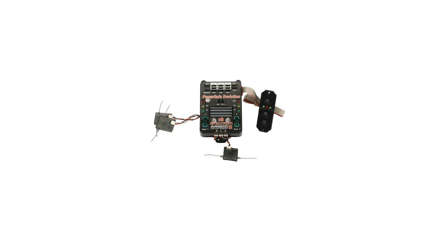 Image for AR9200 DSM2 9Ch PowerSafe Evolution Rx from HorizonHobby