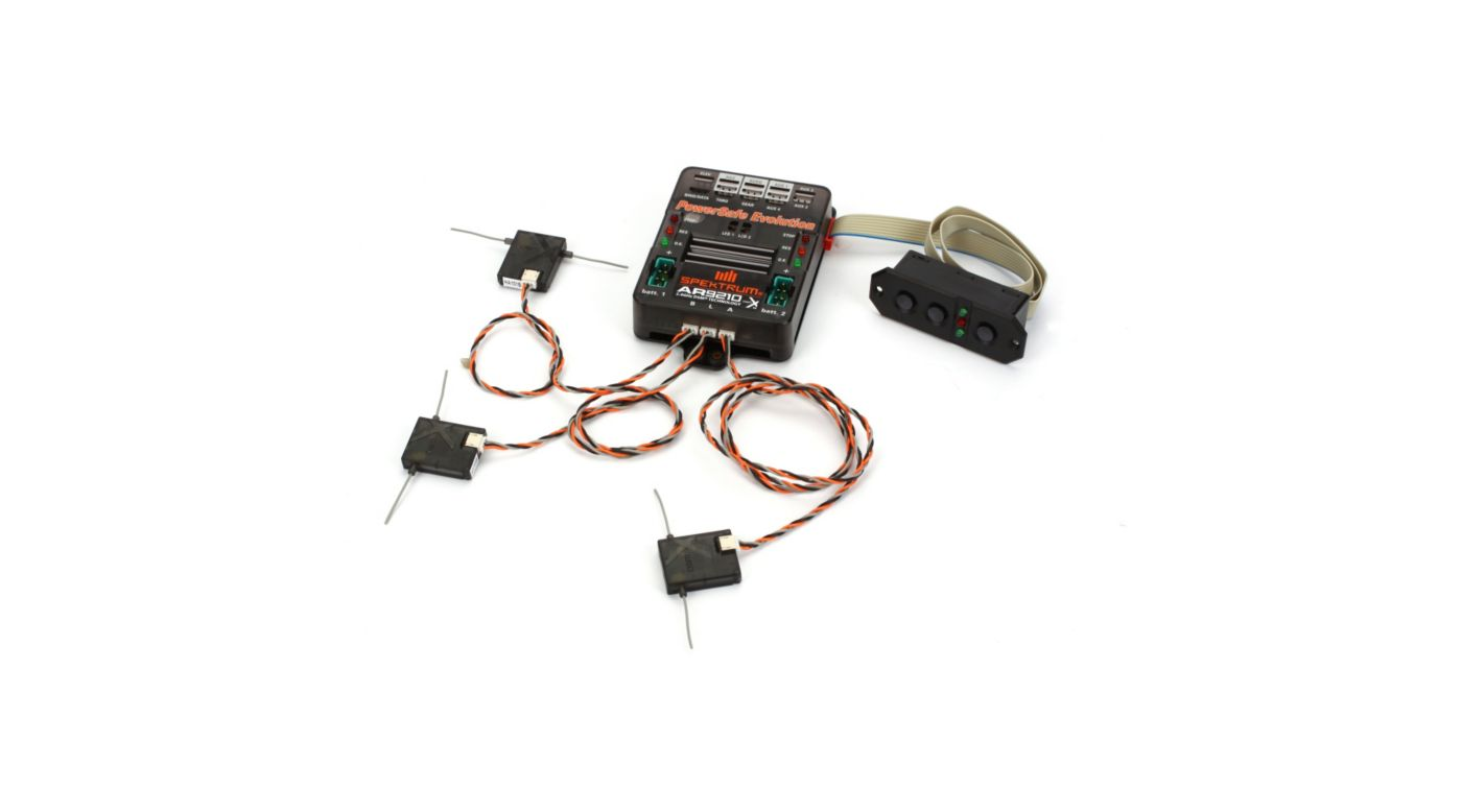 Image for AR9210 9CH DSMX PowerSafe Evolution Receiver from HorizonHobby