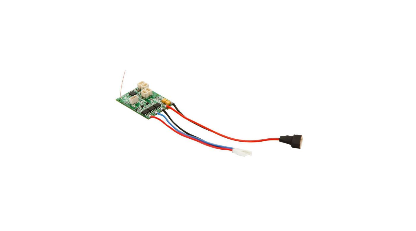 Image for AS6410NBL DSMX 6-Channel AS3X Receiver with Brushless ESC from HorizonHobby