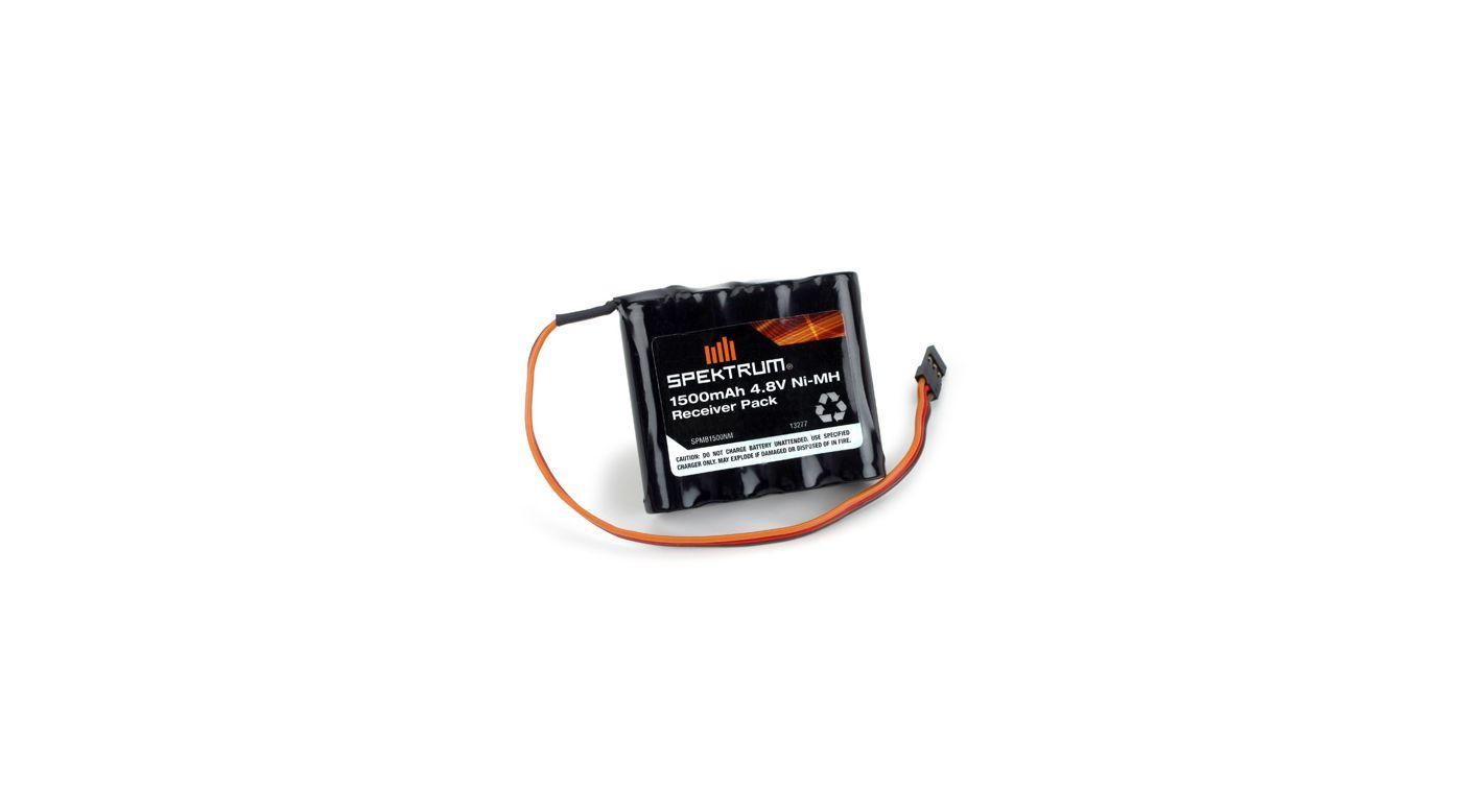 Image for 1500mAh 4.8V NiMH Receiver Pack from HorizonHobby