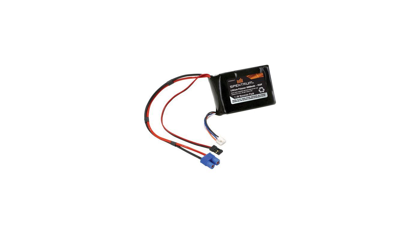 Image for LiPo Receiver Pack 6000mAh from HorizonHobby