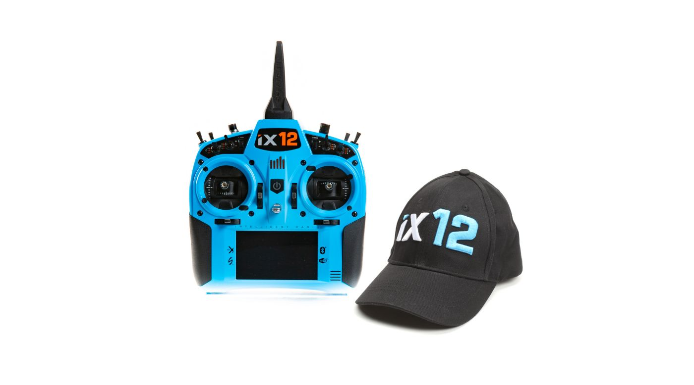 Image for iX12 12-Channel DSMX Transmitter Only, Light Blue from HorizonHobby