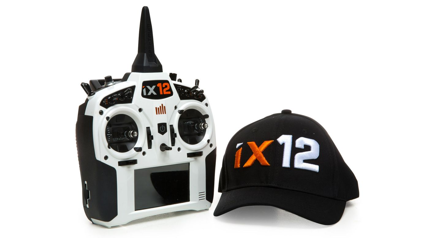 Image for iX12 12-Channel DSMX Transmitter Only, White from HorizonHobby