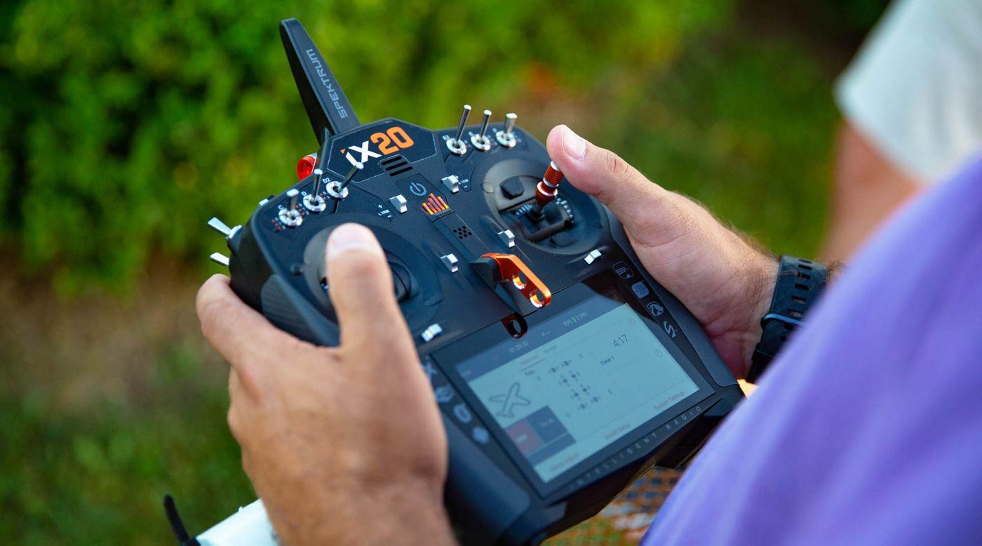 Image for iX20 20-Channel DSMX Transmitter Only, Black from HorizonHobby