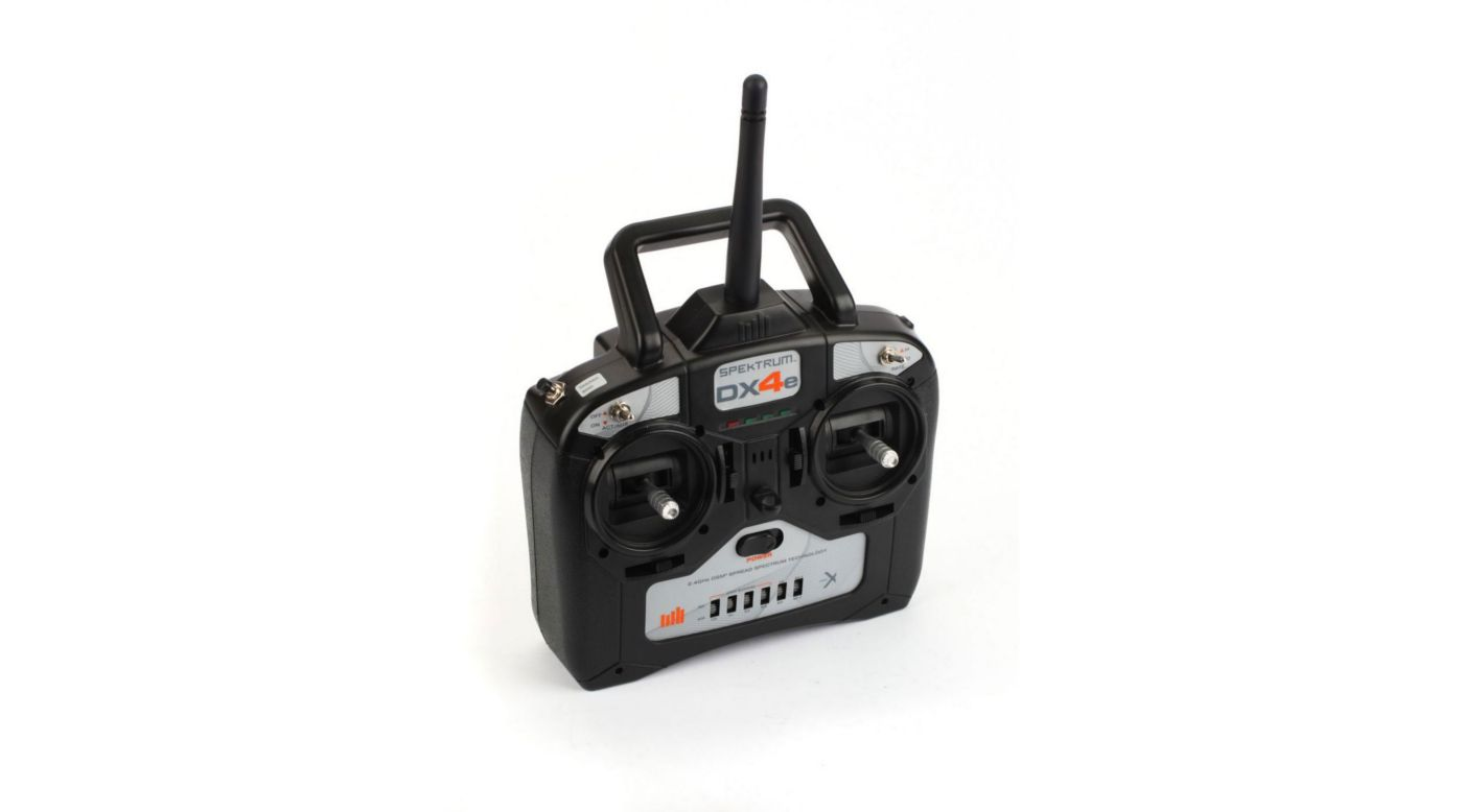 Image for DX4e 4-Channel DSMX® Transmitter Only, Mode 1/3 from HorizonHobby