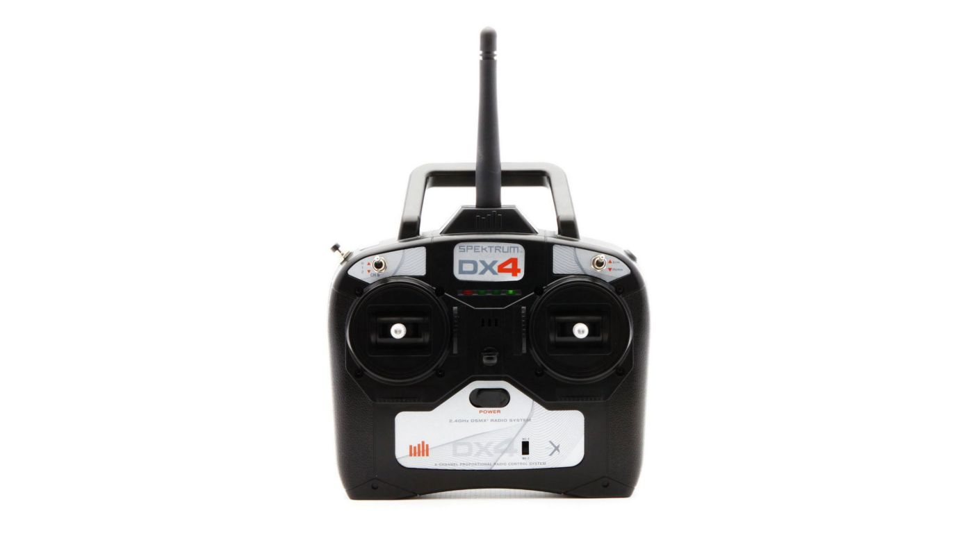 Image for DX4 DSMX 4-Channel Full Range Replacement Transmitter Only, Mode 1/3 from HorizonHobby