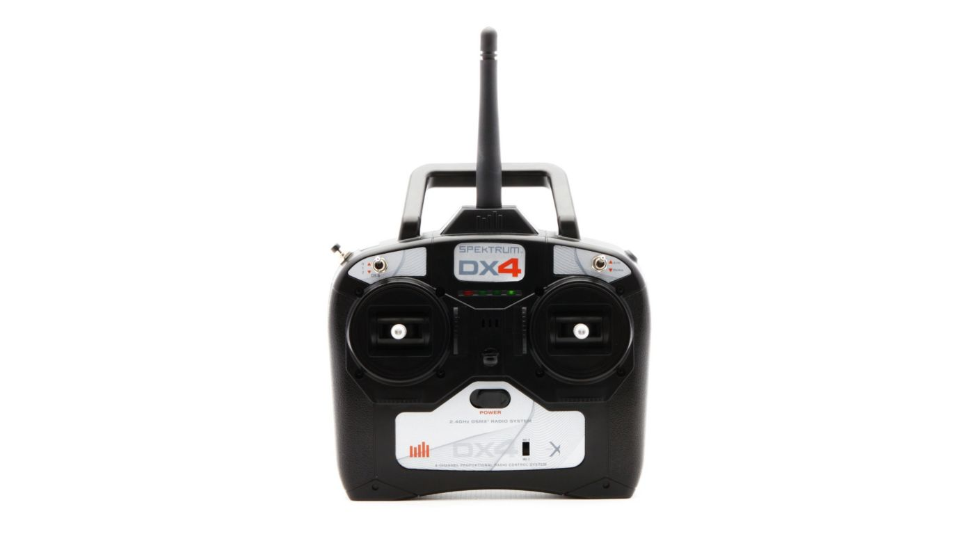 Image for DX4 DSMX 4-Channel Full Range Replacement Transmitter Only, Mode 2/4 from HorizonHobby