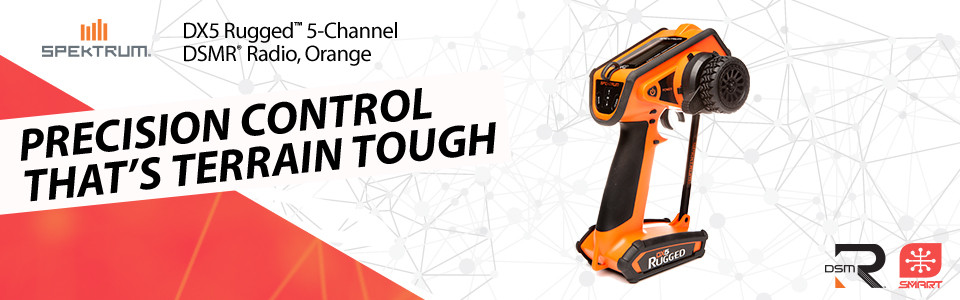 DX5 Rugged 5-channel Surface Transmitter